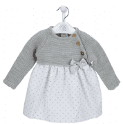 A3409G Knitted baby Dress